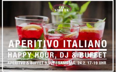 Aperitivo Italiano – 24.2. 17 – 19 Uhr