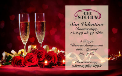 Valentinstag im Che Storia