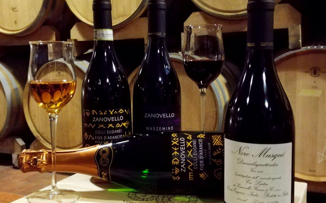 Weinverkostung Che Storia & Calustra 6.9.2019