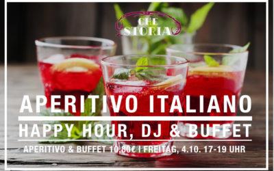 APERITIVO ITALIANO – FREITAG, 4.10.2019 17-19 UHR